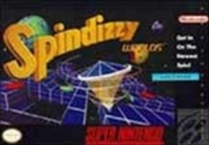 Spindizzy Worlds - SNES Game
