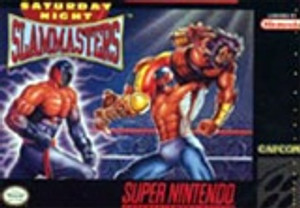 Saturday Night Slam Masters - SNES Game