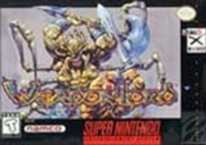 Weaponlord - SNES Game