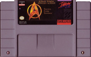 Star Trek Starfleet Academy - SNES Game