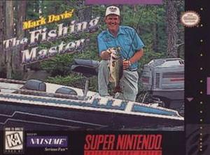 Mark Davis Fishing Master - SNES Game