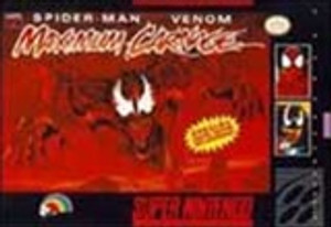 Spider-Man Venom Maximum Carnage - SNES Game