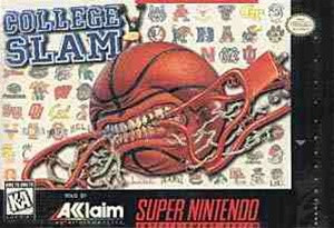 College Slam - SNES Game