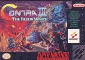 Contra III The Alien Wars - SNES Game