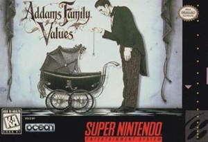 Addams Family Values - SNES Game