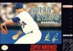 Nolan Ryan's Baseball - SNES Game