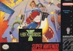 Jim Power Lost Dimension 3-D - SNES Game