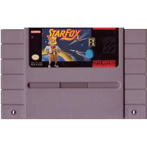 Star Fox - SNES Game Cartridge