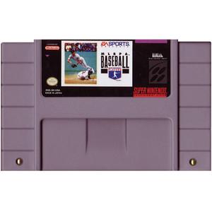 MLBPA Baseball - SNES Game