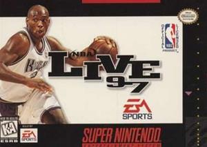 NBA Live 97 - SNES Game