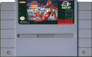 Bill Laimbeers Combat Basketball- SNES Game