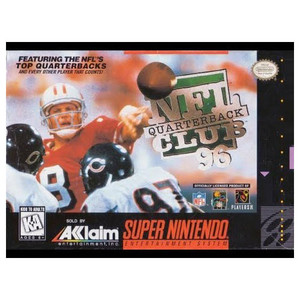 NFL Quarterback Club 96 - SNES Game