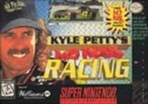 Kyle Petty's No Fear Racing - SNES Game