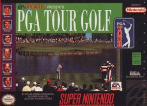 PGA Tour Golf - SNES Game