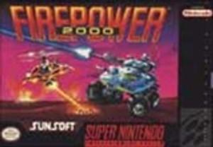 Firepower 2000 - SNES Game