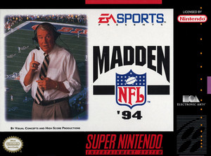 Madden NFL '94 - SNES Game