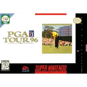 PGA Tour 96 - SNES Game Box Cover Art