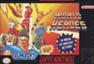World Heroes - SNES Game