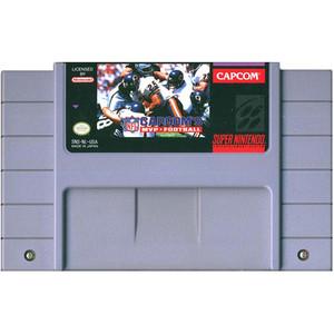 Capcoms MVP Football - SNES Game