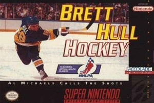 Brett Hull Hockey - SNES Game