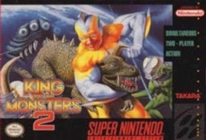 King of the Monsters 2 - SNES Game