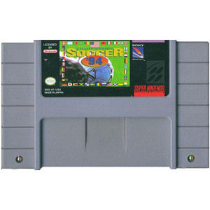 Championship Soccer 94 - SNES Game