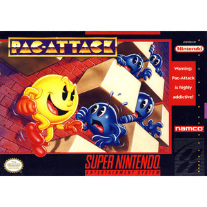Pac-Attack - SNES Game