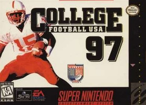 College Football USA 97 - SNES Game