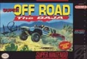 Super Off Road The Baja - SNES Game