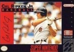 Cal Ripken Jr Baseball - SNES Game