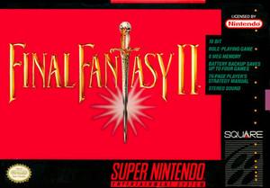Final Fantasy II - SNES Box Cover Art