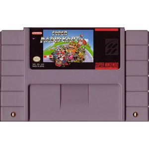 Super Mario Kart - SNES Game Cartridge