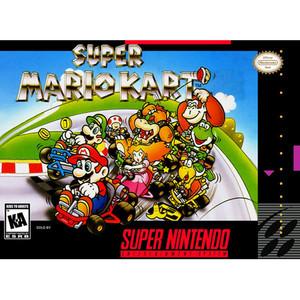 Super Mario Kart - SNES box front