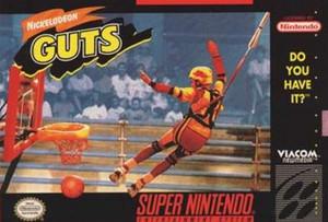 Nickelodeon Guts - SNES Game