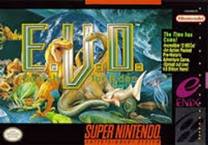 E.V.O. Search for Eden (EVO) - SNES Game
