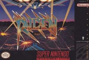 Raiden Trad - SNES Game