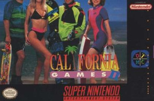 Califorina Games II - SNES Game