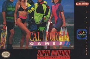 Califorina Games II - SNES Game