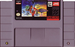 Super Empire Strikes Back Super Nintendo SNES video games for sale , cartridge pic.