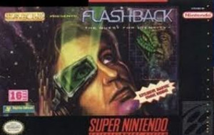 Flashback The Quest for Identity - SNES Game