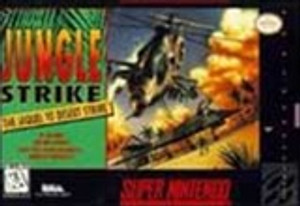 Jungle Strike - SNES Game