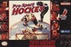 Pro Sport Hockey - SNES Game