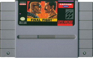 Final Fight - SNES Game