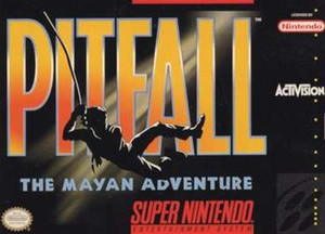 Pitfall The Mayan Adventure - SNES Game