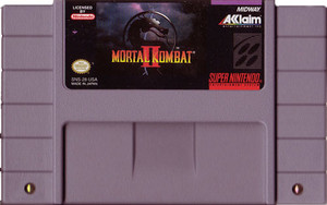 Mortal Kombat II - SNES Game