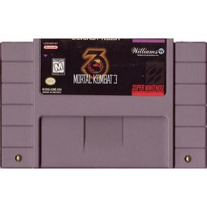 Mortal Kombat 3 - SNES Game cartridge