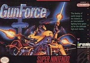 GunForce - SNES Game