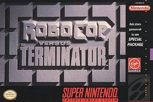 RoboCop Vs The Terminator - SNES RoboCop Vs The Terminator - SNES Game