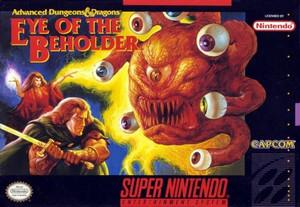 Eye of the Beholder - SNES Game