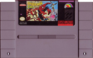 Spider-Man / X-Men Arcade's Revenge Super Nintendo SNES Game for sale cartridge pic.